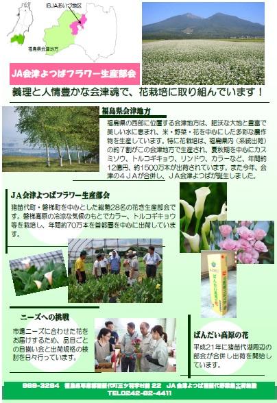フラワー生産部会紹介
