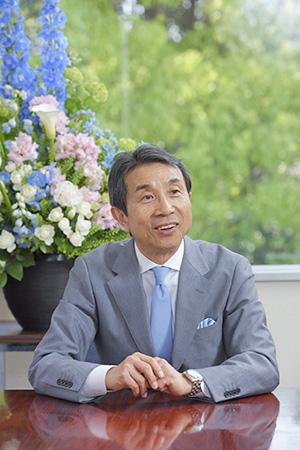 取締役会会長 代表執行役社長 磯村 信夫